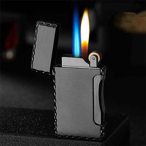 briquet double flamme